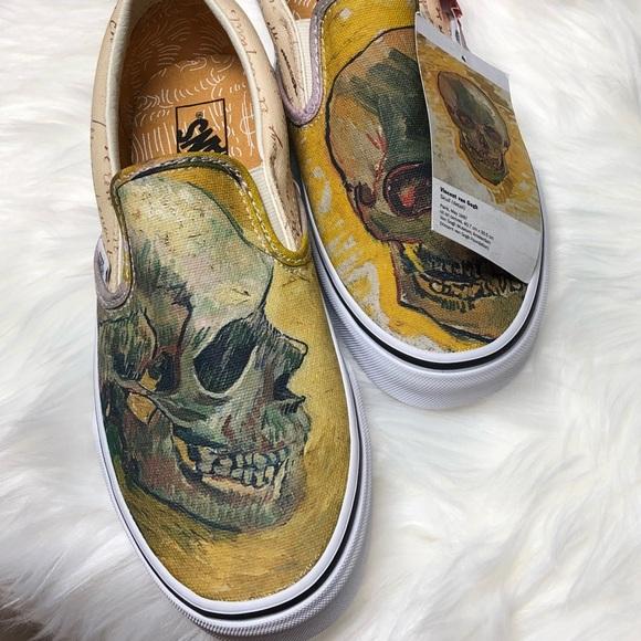 VANS x Vincent Van Gogh Slip-on Skull 0b53754f1